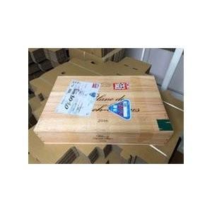 ワイン木箱【ブラン・ド・ランシュバージュ】(33×50.5×11)【木箱以外の商品との同梱不可】|wassys