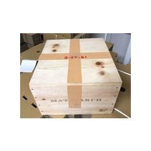 ワイン木箱【ボンド・メトリアーク】(33.5×31×20.5)【木箱以外の商品との同梱不可】|wassys