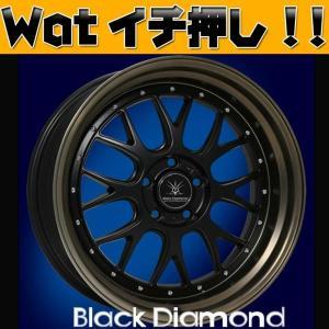 カムリ・アルファード 19インチ Black Dimond BD00 当社特選タイヤホイールセット|wat
