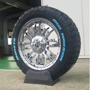 ランクル100系/200系 セコイア タンドラ LX570 20インチ MONSTA TIRE マッドタイヤ 265/50R20,275/55R20,285/50R20 ホワイトレター|wat