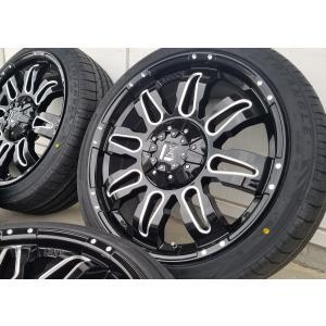 LEXXEL【Balano offroad style】ハリアー,CX5,デリカD5,エクストレイル,CX8 20インチ トライアングル TH201 245/40R20 タイヤホイールセット wat