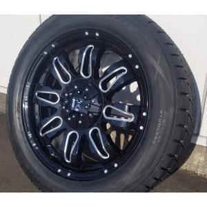 エスカレードに是非!!国産スタッドレス LEXXEL Balano offroad style エスカ タホ サバーバン H3 GMCユーコンデナリ ダンロップ winter MAXX 285/50R20 20インチ|wat