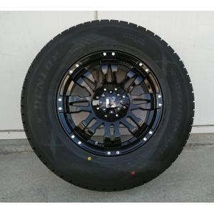 ハイラックス プラド サーフ タイヤホイール 17インチ Balano ダンロップ スタッドレス winter MAXX SJ8 265/70R17 265/65R17 275/65R17|wat