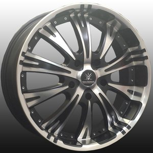 新型ランクル ランドクルーザー 200系,100系 BLACK Diamond BD10ver.2 22in 特選タイヤ&ホイールセット 305/40R22 305-40-22
