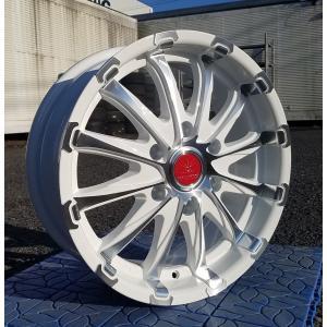 車検対応 JWL -T Bounty Collection 新品 アルミホイール 4本 BD12 18インチ  18×7.5 +38 139.7-6H 1台分 wat