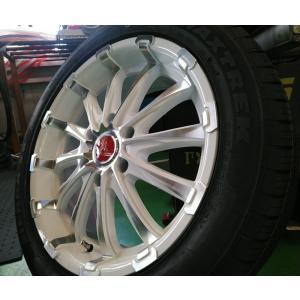 HIACE ハイエース 200系 タイヤホイール 18インチ BD12 特選タイヤ 225/50R18 新品4本セット wat