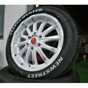 ハイエース 200系 タイヤホイール 18インチ 新品4本セット 車検対応 BD12 & ALLENCOUNTER 225/50R18 107/105T wat