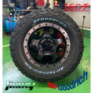 ジムニー 16インチタイヤホイールセット BDX05 16×5.5J +20 139.7 5H BF...