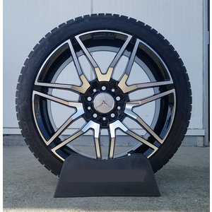 スタッドレス ベンツ Cクラス (W204)  Aクラス(W176) Bクラス(W246) コンチネンタル 225/40R18 18インチ 新品タイヤホイールセット 1台分 4本セット|wat