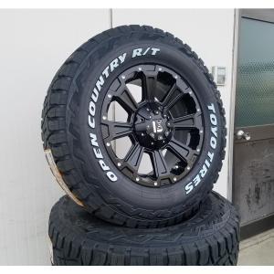 LEXXEL DeathRock 200系ハイエース タイヤ ホイール セット  16インチ オープンカントリー RT 215/65R16 ホワイトレター 車検対応|wat