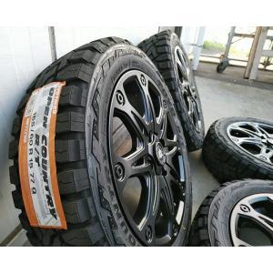 ハイゼット 軽トラ タイヤホイール 15インチ MUD-X トーヨー オープンカントリー R/T 1...