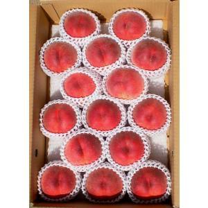福島の桃 贈答用 中生種(あかつき・まどか)7月下旬〜8月中旬お届け 特秀品 5kg 14〜18玉入り 送料無料|watanabe-kajuen|02