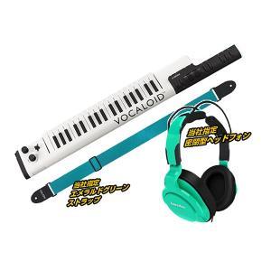 話題のボカロキーボードにお部屋で練習するの便利なヘッドフォンとストラップをセットにしました!あのボカ...