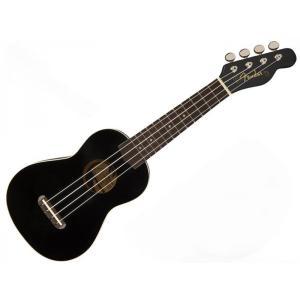 Fender(フェンダー) Venice Soprano Ukulele(BLK)【ソプラノ ウクレ...