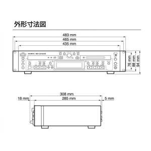 TASCAM(タスカム) MD-CD1MK3 【残り1台 箱ボロ OUTLET 特価品】◆ MD デッキ・CDプレーヤー watanabegakki 04