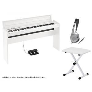 KORG(コルグ) LP-180 WH キーボードベンチセット