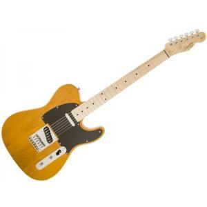 変わらぬスタイルで今でも現役、エレキギターの原点とも言えるテレキャスター。スクワイヤーの中でもエント...