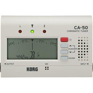KORG(コルグ) CA-50 クロマチックチューナー カード型 チューナー 単4電池 管楽器 トランペット クラリネット サックス フルート 弦楽器 chromatic tuner watanabegakki