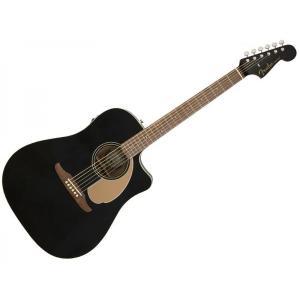 Fender(フェンダー) Redondo Player Jetty Black【アコースティックギ...