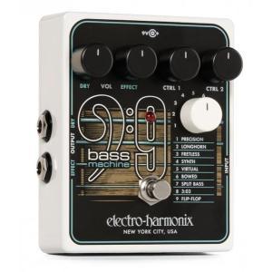 SS 9 Bass Machine は特別なピックアップや MIDI、改造を必要とせずに、ギターサウ...
