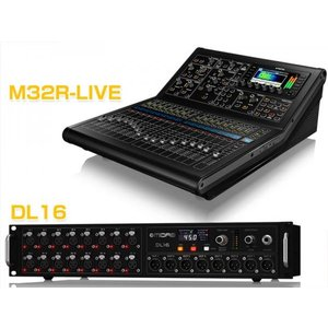 MIDAS(マイダス) M32R-Live + DL16 Stage Box  バンドルセット  ◆...