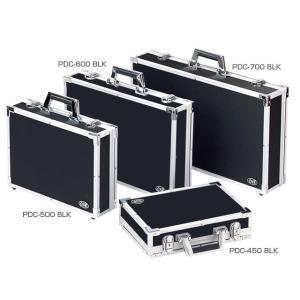 CNB PDC-450B 強化レザー エフェクターケース 蓋が取れる セパレートタイプ エフェクターボード ハードケース Sサイズ カラー ブラック PDC-450 BLK watanabegakki