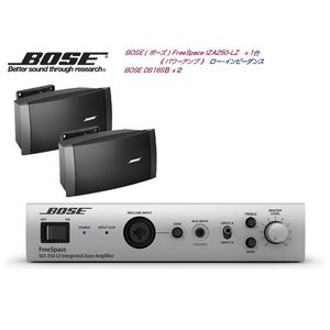 BOSE(ボーズ) DS16S 壁面取付 LOW・基本セット( IZA250-LZ )  【ご予約商品 次回12月予定】|watanabegakki