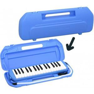 32鍵 鍵盤ハーモニカ 1台 立奏用唄口 卓奏用パイプ セッ...