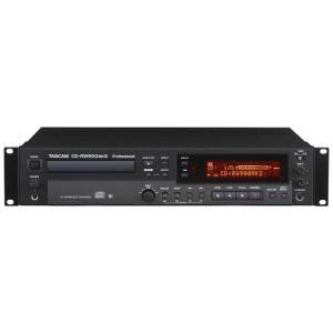 CD-RW900MKIIは業務用CDレコーダーです。音質を左右するAD/DA変換には、旭化成エレクト...
