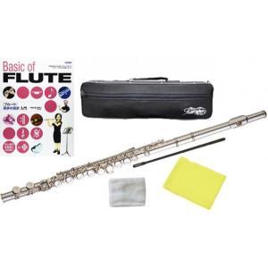 Kaerntner KFL28 フルート 銀メッキ 新品 Eメカニズム付き カバードキイ C管 頭部管 主管 足部管 管楽器 Flute Silver 【 KFL-28 セット A】一部送料追加
