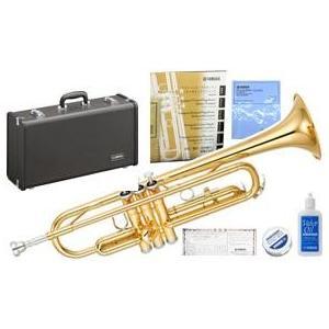 YAMAHA(ヤマハ) 送料無料 YTR-2330 トランペット 日本製 新品 管体 ゴールド 管楽器 B♭ 本体 ケース マウスピース 初心者|watanabegakki