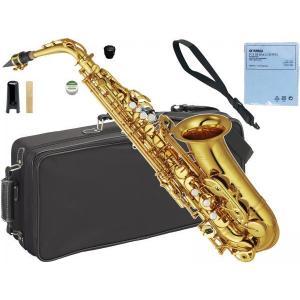 YAMAHA 送料無料 アルトサックス YAS-62 ゴールド 新品 日本製 サックス 管体 E♭ 初心者 スタンダード 管楽器 本体 アルトサクソフォン YAS62 gold YAS-62-04|watanabegakki