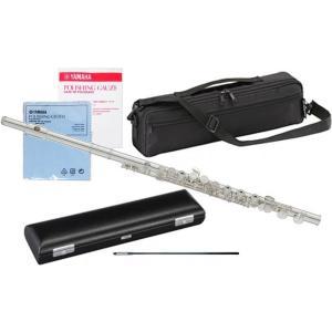 YAMAHA(ヤマハ) 送料無料 フルート YFL-212 Eメカニズム付き 新品 銀メッキ カバードキイ オフセット CY 頭部管 主管 足部管 管楽器 standard flute