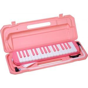 32鍵 鍵盤ハーモニカ ピンク ブルー 幼児 こども 楽器 ...