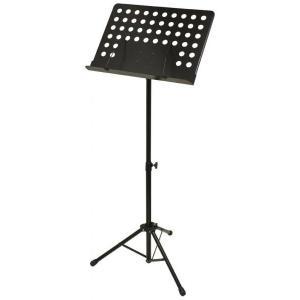 据え置き型 譜面台 スチール製 スコア スタンド ホール向けタイプ ミュージックスタンド 楽譜立て ブラック 【 オーケストラタイプ スチール譜面台 】