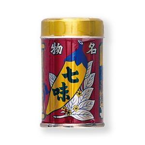 八幡屋礒五郎七味缶14g『蕎麦/薬味/お土産』