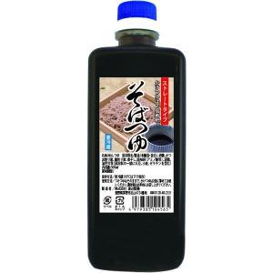 そばつゆストレート500ml『蕎麦つゆ/甘口』 watanabeseimen