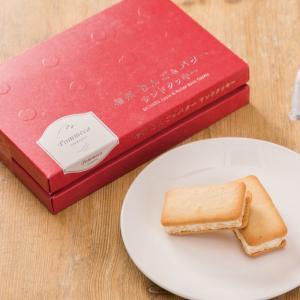 信州産りんごを使った、香ばしい焼きりんご風味のサンドクッキーです。クリームの中にコーンフレークが入っ...