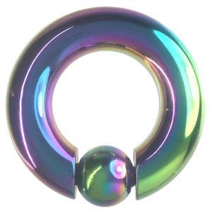 ゲージ:0G 内径:18mm ボールサイズ:10mm ボール:バネ入り 材質:ステンレス カラー:レ...