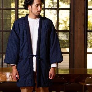 久留米袢纏はんてん 久留米紬織のゆったり大判 LLサイズ|watanosato|03