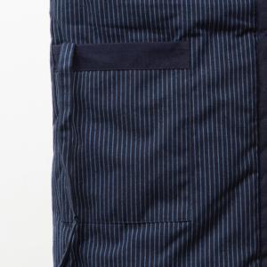 久留米袢纏はんてん 久留米紬織のゆったり大判 LLサイズ|watanosato|04