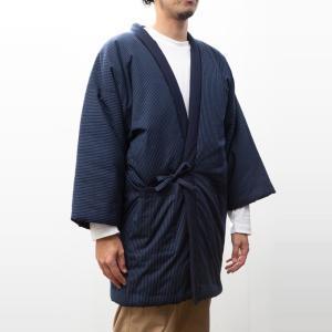 久留米袢纏はんてん 久留米紬織のゆったり大判 LLサイズ|watanosato|05