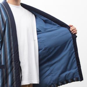 久留米袢纏はんてん 久留米紬織のゆったり大判 LLサイズ|watanosato|06