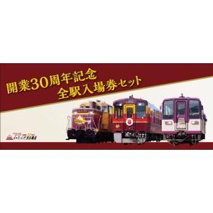 わたらせ渓谷鐵道開業30周年記念全駅入場券セット|watarase