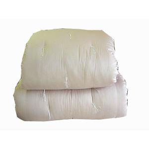 ★_22「滋賀県ご当地モール」世界初エジプト綿100%入りの手づくり木綿布団掛けシングル|watase
