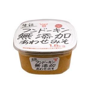 フンドーキン「生詰め無添加合わせ味噌」は 米・麦あわせの甘口九州田舎味噌です。  ◆食品一括表示◆ ...