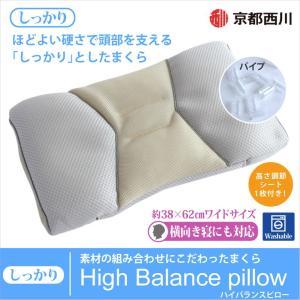 京都西川 High Balance pillow ハイバランスピロー(しっかり)|watayamori