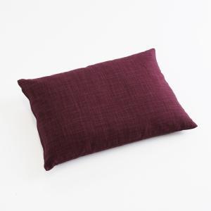 そばがら枕 なごみ むらさき色|watayamori