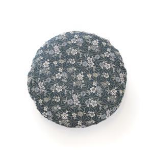 麻の葉桜 紺色 40cmR カバー|watayamori