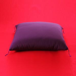 【特大サイズ 90cm角】落語 高座用・祝寿用 座布団 高級ちりめん生地 紫色 |watayamori